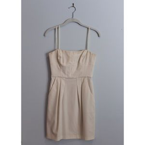 Strapless BCBG dress with pockets